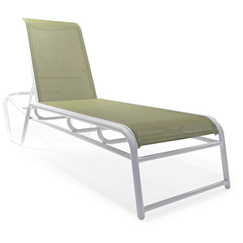 Sl mo150 stacking chaise lounge roberts aluminum for Aluminum commercial stack chaise lounge