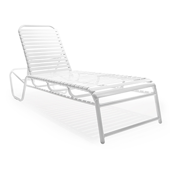 Mo150 stacking chaise lounge roberts aluminum for Aluminum commercial stack chaise lounge