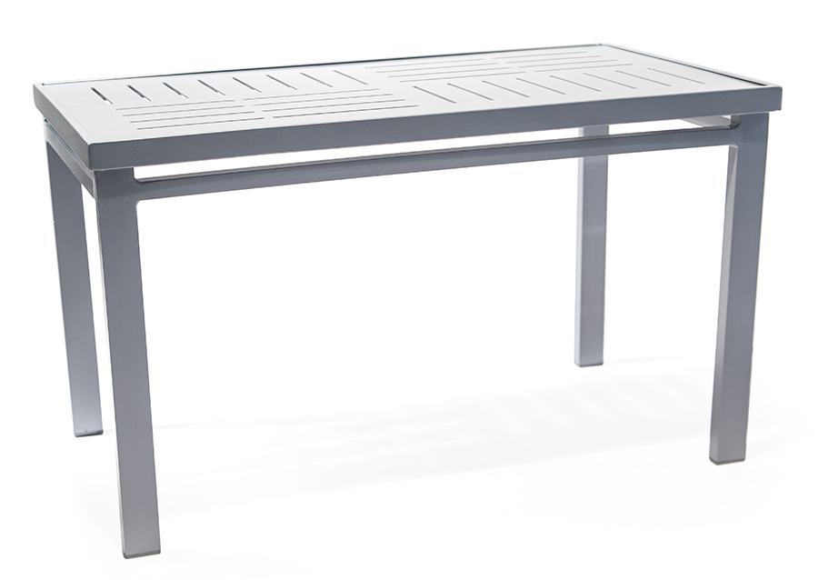 Tatl2240pad 22 x40 cocktail table roberts aluminum for Height of cocktail tables