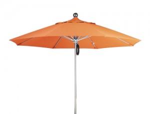 MUFA-9PP Windbreaker Single Wind Vent, Pulley Lift Market Umbrella