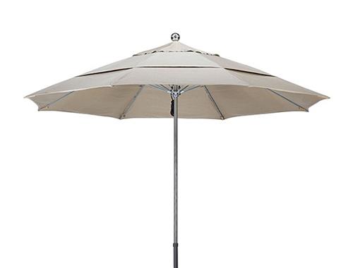 MUFADWV-9PP Windbreaker Double Wind Vent, Pully Lift Market Umbrella
